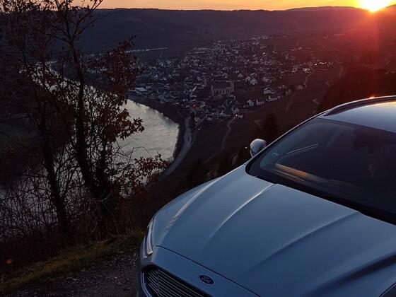 Mosel Sonnenuntergang