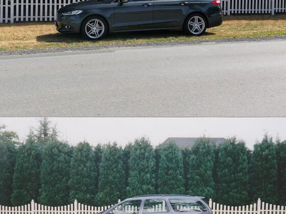 Zaun und Bäume sind geblieben... 1998er MK1 1.8TD  90PS vs 2015er MK5 2.0 TDCI 210PS