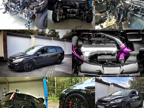 mein Focus RS Turnier Umbau