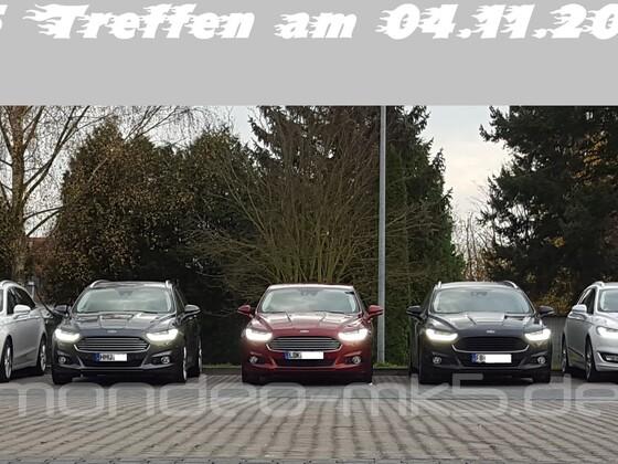Mondeo MK5 Treffen am 04.11.2017 in Butzbach
