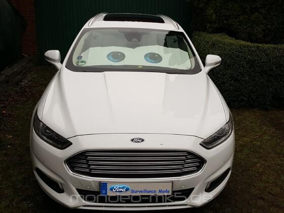 Ford Mondeo Optionen - der neue Überwachungsmodus der Wegfahrsperre ;-)