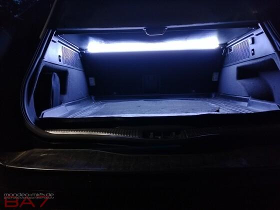 Upgrade Kofferraumbeleuchtung