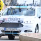 Mondeo bei der Tour 2017 beimTeam Sky