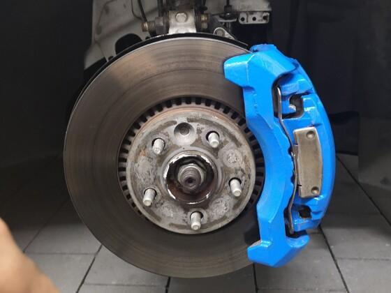 Umbau bremsanlage statt 300mm auf 316mm